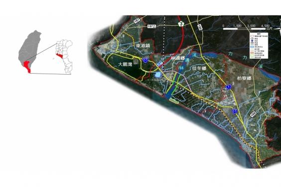 綜合治水工程佈置圖