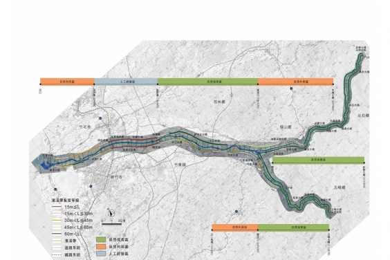 頭前溪河川環境營造計畫規劃