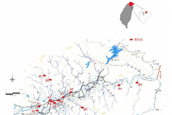基隆河流域滯洪區建置調查及規劃評估